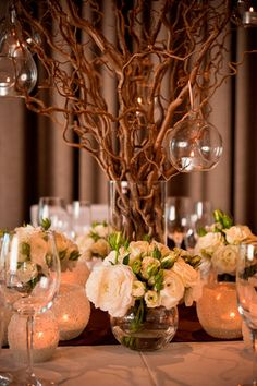 Stunning rustic table setting