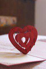 Sweet heart pop up carr