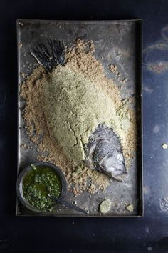 The technique of encrusting whole fish with a salt-and-egg white mixture keeps the fish incredibly moist as it roasts.