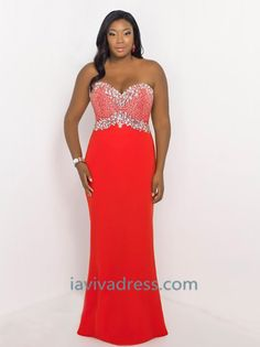ed197aaa41357 2015 Style Sheath Column Sweetheart Sweep Brush Train Chiffon Plus Size  Evening Dresses Plus