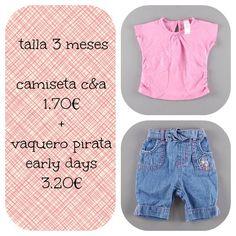 Propuesta de #look infantil por menos de 5 euros  http://www.quiquilo.es/44-3-meses