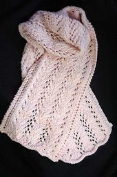 Ravelry: Ribbon of Hope Scarf (W201) pattern by Susie Bonell