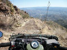 Descending in to the Verde Valley http://www.sizemattersrentals.com