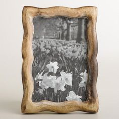 One of my favorite discoveries at WorldMarket.com: Rectangular Scalloped Amelia Frame