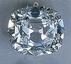 The Cullinan II is the fourth largest diamond of the world weighing 317.40 carats. It is a cushion shaped diamond. Now The Cullinan II is found in the bottom area center front of the Imperial Stat Crown of Great Britain which belongs to Queen Elizabeth II of England.