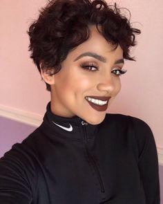 Brown lip popping