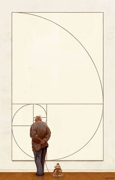 Illustration / The Golden Ratio by Michal Urbanski