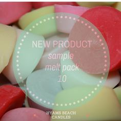 Sample Melts Pack How difficult it can be to choose just one fragrance when you may want to try a bit of everything. Strawberry Champagne, Lemon Grass, Rose Buds, New Product, Strawberries, Fig, Pear, Vanilla, Fragrance