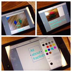 Tech with Kelly: Fraction App-tivities