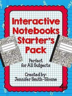 Are you looking to start using Interactive Notebooks in your classroom? This resource is the perfect place to start! (for all grades)