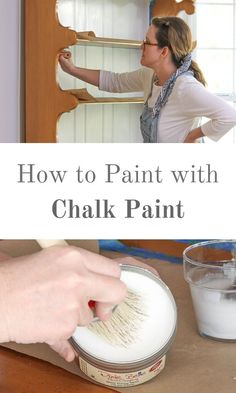 42 New ideas white chalk painted furniture tutorials Chalk Paint Dresser, Chalk Paint Wax, Using Chalk Paint, Chalk Paint Colors, Chalk Paint Projects, White Chalk Paint, Chalk Paint Furniture, Waxing Painted Furniture, Antique Furniture