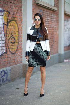 Fashion Week Street Style.Tina Leung at Milan Fashion Week Fall 2015 #MFW