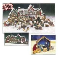 Scrollsaw Christmas Puzzles Downloadable Plan -