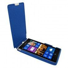 Capa Lumia 925 Piel Frama iMagnum - Azul  R$263,47