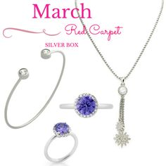 March Red Carpet Silver Box