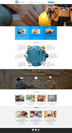 Sell365's Constructions Template. One of the best Website Builder in India. Design and customize your own website with our free website templates.