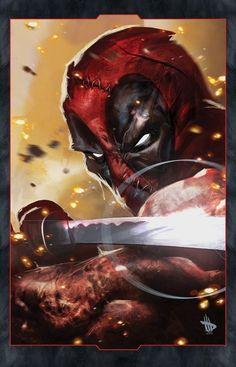 #Deadpool #Fan #Art. (Deadpool) By: Dave-Wilkins. 💪(BEST OF THE BEST!💪ÅWESOMENESS!!!™ ÅÅÅ+