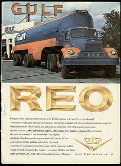 Reo truck ad