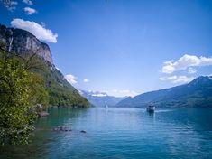 Walensee und Seerenbachfälle links oben Mountains, Nature, Travel, Tourism, Viajes, Naturaleza, Destinations, Traveling, Trips