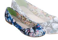 Einfach zum Verlieben, diese herzigen Ballerinas von ConWay gibt's natürlich auch bei uns. Sie haben Schmetterlinge im Bauch? Wer nicht, bei dem Anblick dieser hübschen Schuhe. Ein Ausblick auf unsere tollen Modelle für Frühjahr/Sommer 2013. ConWay, Damen Ballerinas – Grace – schwarz und lila; Pumps, Ballerinas, Sneaker, Flats, Shoes, Fashion, Lilac, Give Me Butterflies, Hiking Shoes