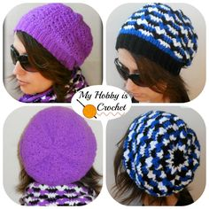 Looking for your next project? You're going to love Hypnotic Heart Hat by designer MyHobbyIsCroche.