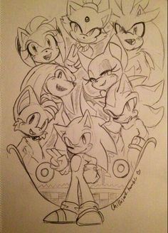 Sonic and the Gang