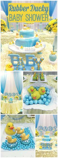 "Rubber Duckies / Baby Shower ""Rubber Duckies Baby Shower"" - https://www.pinterest.com/pin/187884615682864785/?utm_campaign=coschedule&utm_source=pinterest&utm_medium=Celebrate%20Life%20Crafts"