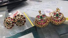Antique Jewellery Designs, Antique Jewelry, Jewelry Design, Metal Jewelry, Gold Jewelry, Jewelry Box, Gown Party Wear, Gold Earrings, Drop Earrings