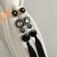 Handmade Jewelry, Jewelry Making, Brooch, Drop Earrings, Unique, Fashion, Moda, Handmade Jewellery, Fashion Styles
