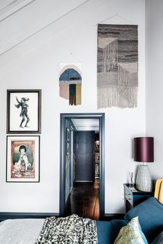 Tour a Tiny House in London's Brixton Full Of Clever Space-Saving Ideas Guest Bedroom Office, Space Saving, Living Room Pendant, House, Corner House, House Interior, Maximalist Interior, White Walls, Victorian Homes