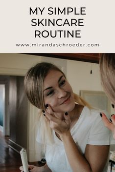 This simple skincare routine has completely changed my skin. I have always struggled with controlling my acne, but I never gave much thought to my skincare beyond managing breakouts. At 26, I'm starting to understand the importance of skincare! Better late than never.  | Health | Beauty | Skincare | Lifestyle |