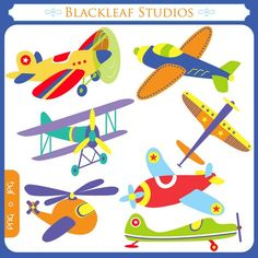 Flying High Airplanes  planes boys toy by blackleafdesign on Etsy, $5.00