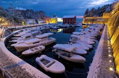 Winter foto of Zadar Marine, Croatia