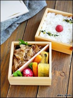 [Ginger grilled lunch of pig] bento 2015.10.15   bending duck lunch Wappa