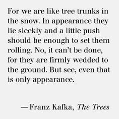 Walbaum designed by Justus Erich Walbaum, Inspired by Bodoni and Didot. A favorite of Franz Kafka. Kafka Quotes, Book Quotes, Me Quotes, Preach Quotes, Literary Quotes, Inspire Me, Wise Words, Decir No, Favorite Quotes