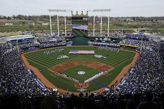 Kaufman Stadium - where the Royals play