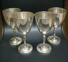 Large 7 Lopez Taxco Sterling Silver Mexico Wine by goldandgemsllc, $1299.00
