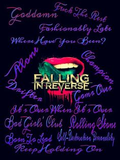 Falling In Reverse Lips Wallpaper Pin By Marna Adetokunbo On Escape The Fate Amp Falling In