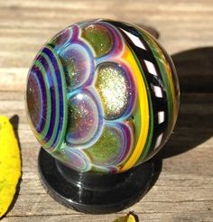 Joshuah Justice ~ staircase pattern marble with encalmo back//.....description is by  Mark