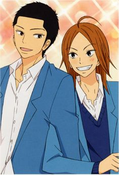 Ryuu & Chizuru ~ Kimi ni Todoke  2 more of my fave characters from Kimi Ni Todoke.  LOVE them and their relationship SSSOOO MUCH...
