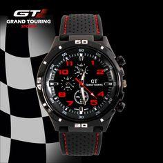 Pánské sportovní hodinky GT Grand Touring F1 inspirované závody Formule 1 –  SLEVA 70% A 66bddfc44a