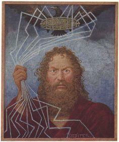 Hans Thoma - Jupiter