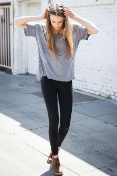 A Capsule Wardrobe // Styling Basics : The Grey Tee   Becca Haf Blogs   Bloglovin'