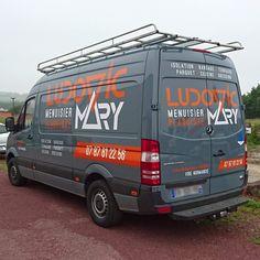 🛣️ Bonne route à Ludovic Mary - Menuisier Plaquiste ! Merci de nous avoir confié la réalisation du marquage de ton nouveau camion ! #publicite #vehicule #camion #vire #normandise #vinyle  🔹 www.vireoverso.com/activites/lettrage-et-decoration-de-vehicule-marquage-camion-utilitaire/