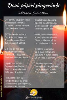 Poezii de jale, poezii triste romanesti, poezii doliu, poezii de Valentina Sarbu-Pelivan