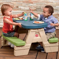 Costco: Step2® - Sit and Play Picnic Table with Umbrella