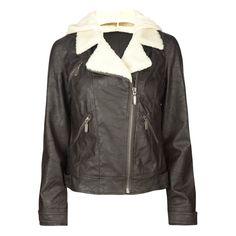 JACK BB DAKOTA Jen Womens Jacket ($25) ❤ liked on Polyvore featuring outerwear, jackets, coats & jackets, jackets & vests, women, vegan leather jacket, bb dakota, long sleeve jacket, faux leather jacket and fake leather jacket