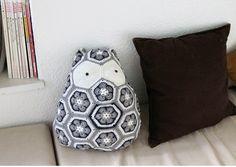 Korea womens apparel shopping mall [REDKITTEN] Handmade owl cushion opener / Size : FREE / Price : 91.84 USD #ootd #Basicitem #loosefit #dailylook #handmade #acc #cushion