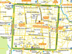 Chiang Mai Old City Map