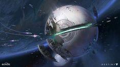 Unused Destiny Concept : The Traveler  by Dorje Bellbrook